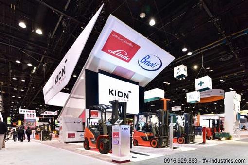 Xe nâng Baoli, thương hiệu chủ lực của tập đoàn Kion
