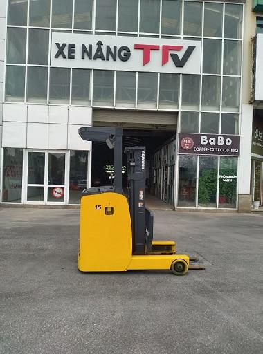 Xe nâng điện Reach truck 1.5 tấn komatsu FB15RL-15