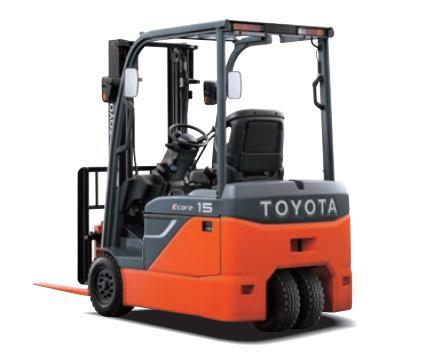 Xe nâng điện Toyoa Ecore 8FBE10-20