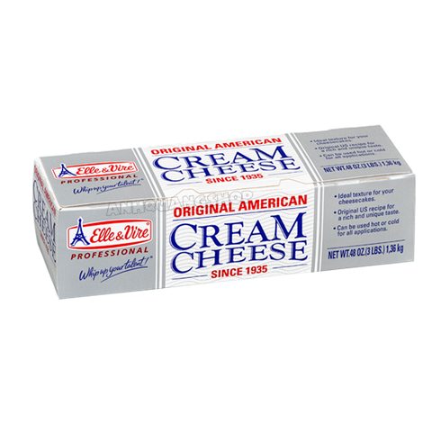 US cream cheese 1.36kg - elle&vire