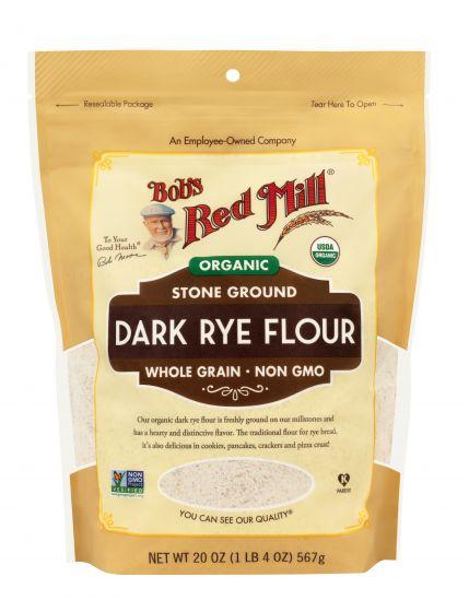 [ Bob's Red Mill ] Bột Mì Đen Hữu Cơ ( Organic Dark Rye Flour ) 567g