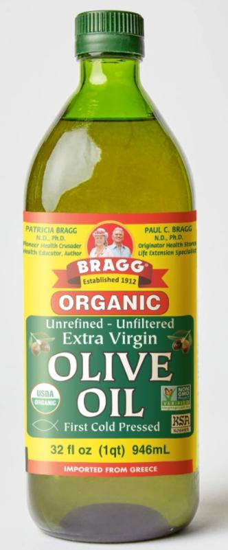 [Bragg] Dầu Extra Virgin Olive Ép Lạnh Hữu Cơ