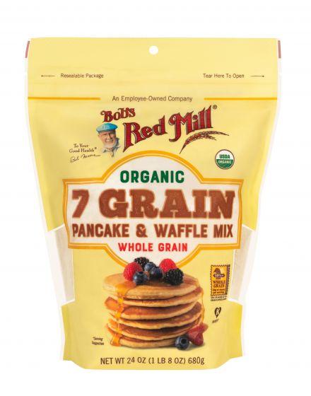 [ Bob's Red Mill ] Bột 7 Hạt Làm Bánh Pancake & Wafffle Hữu Cơ 680g