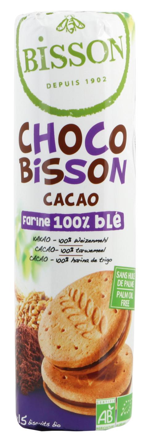 [Bisson] Bánh Quy Bơ Nhân Socola Hữu Cơ 300g