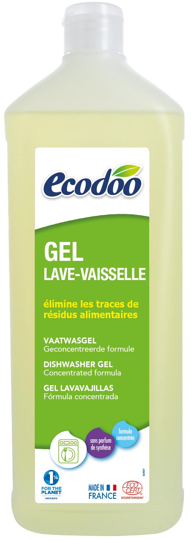 [Ecodoo] Gel Rửa Chén Sinh Học Cho Máy 1L (đậm đặc)
