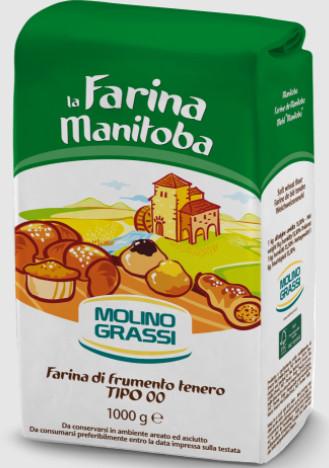 [Grassi] Bột Làm Bánh Mì Manitoba 1kg