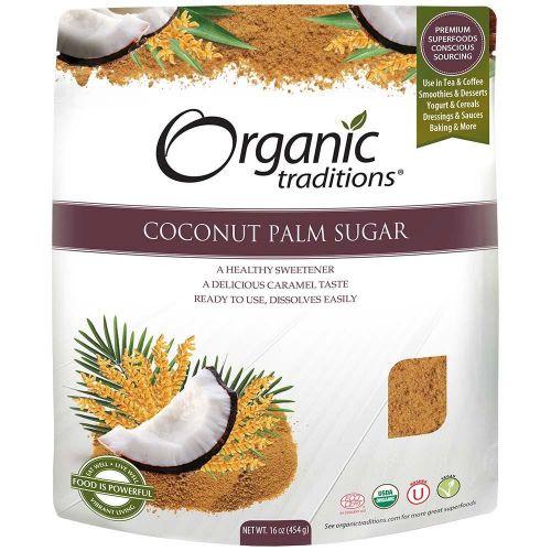 Đường Dừa Hữu Cơ Organic Traditions 454g