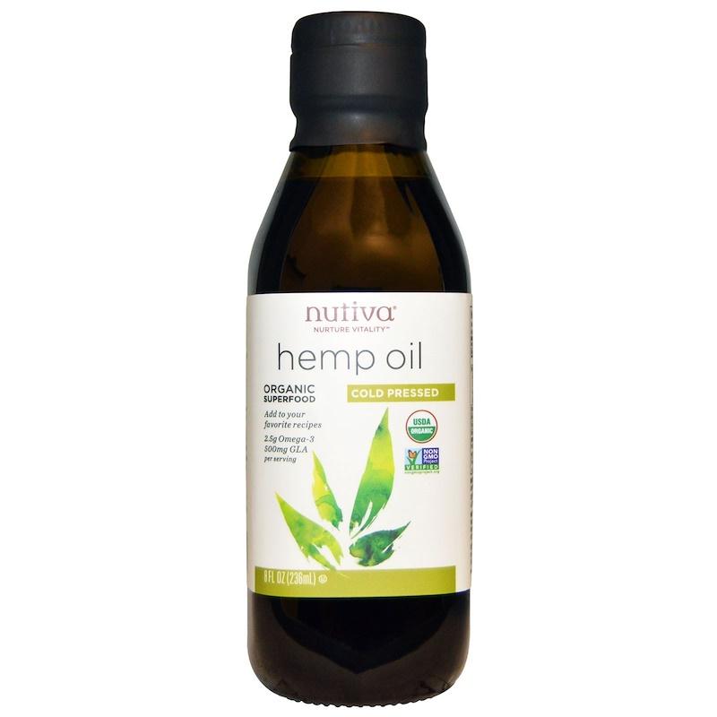Dầu Gai Dầu Hữu Cơ Nutiva ( Organic Hemp Oil ) 236mL