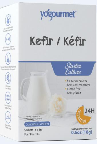Bột Men Làm Sữa Chua Kefir Hộp 18g