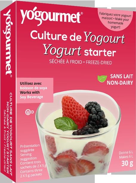 [ Yogourmet ] Bột Men Làm Sữa Chua Vegan ( Non-Dairy Yogurt Starter ) Hộp 18g