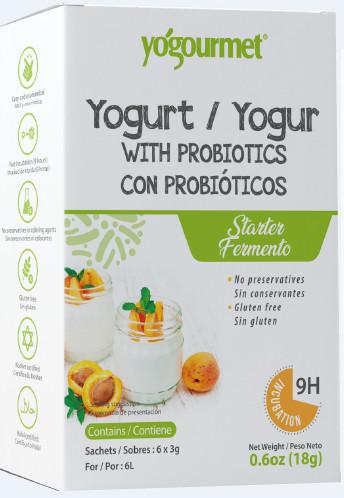 Bột Men Làm Sữa Chua Probiotic Hộp 18g