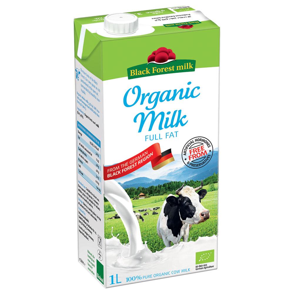 Sữa Tươi Nguyên Kem Hữu Cơ
