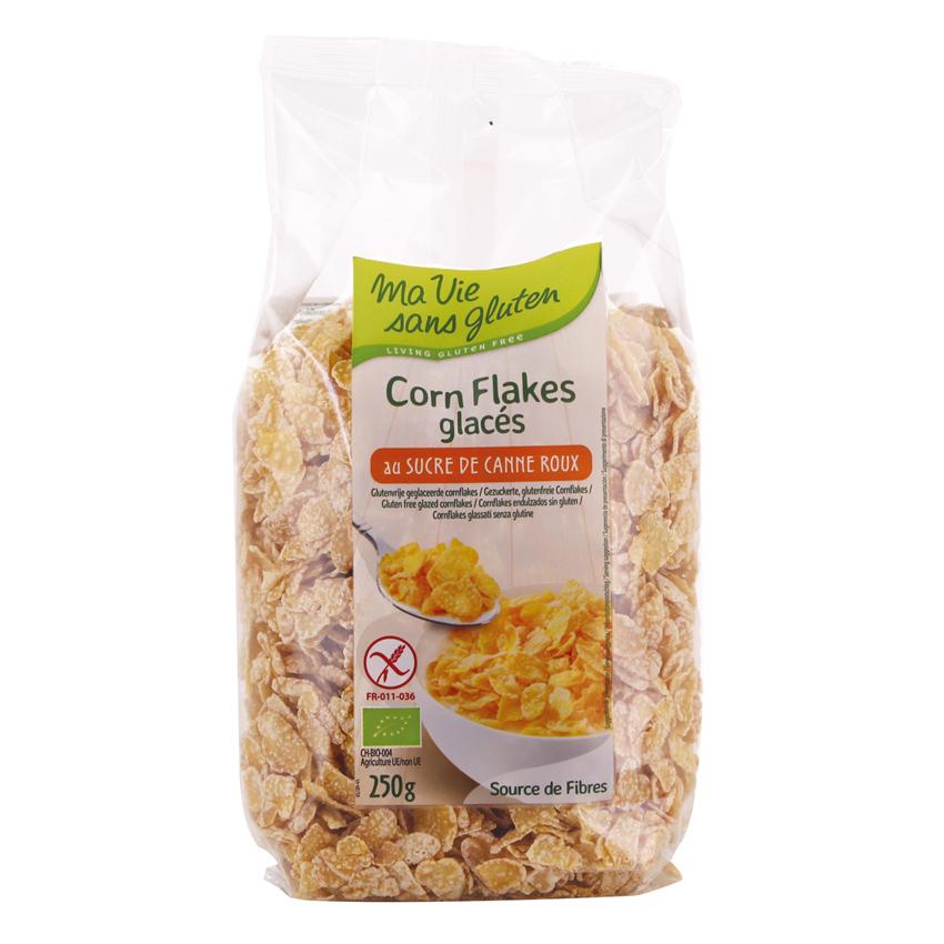 [Ma Vie Sans Gluten] Bắp (Ngô) Giòn Dạng Mảnh Hữu Cơ 250g