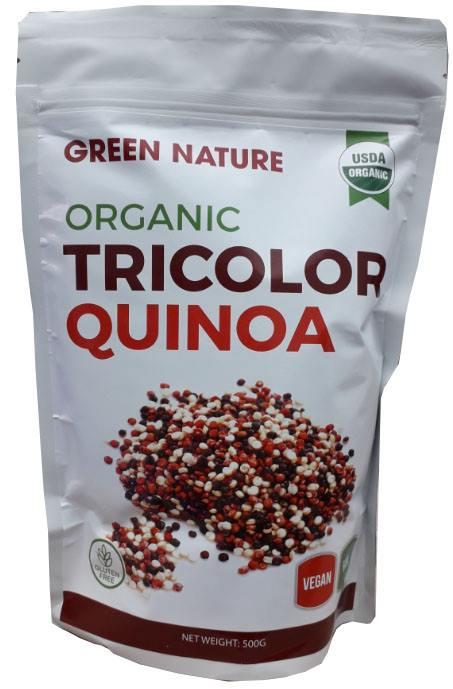 [ Green Nature ] Hạt Diêm Mạch 3 Màu Hữu Cơ 500g