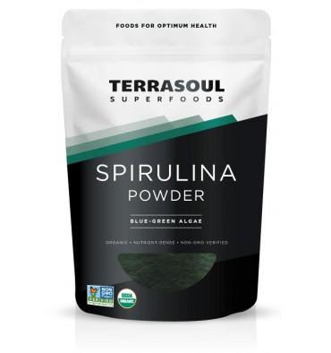Terrasoul Tảo Bột Spirulina Hữu Cơ 170g