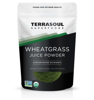 Bột Nước Ép Cỏ Lúa Mì Hữu Cơ ( Organic Wheat Grass Juice Powder ) 141g