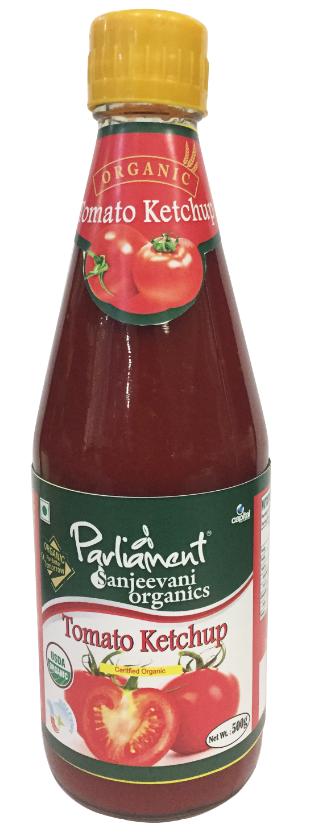 [ Parliament ] Ketchup Hữu Cơ 500g