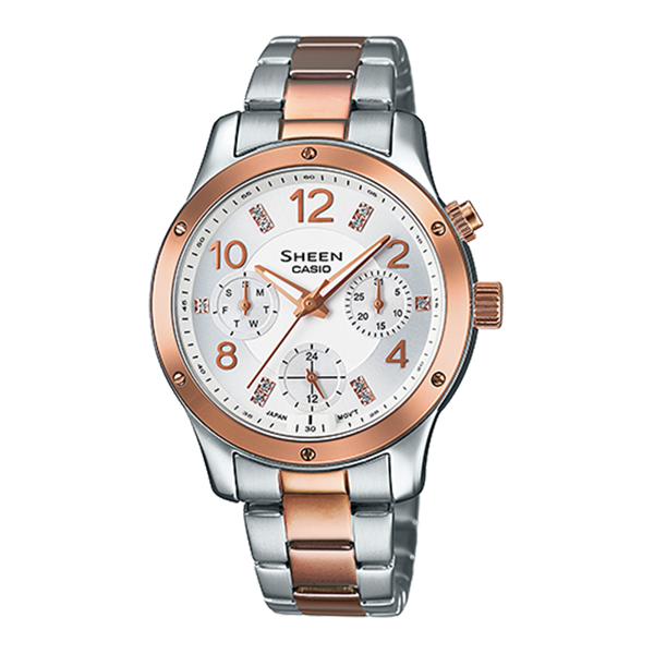 Casio Sheen - Đồng hồ Nữ - SHE-3807SPG-7AUDR