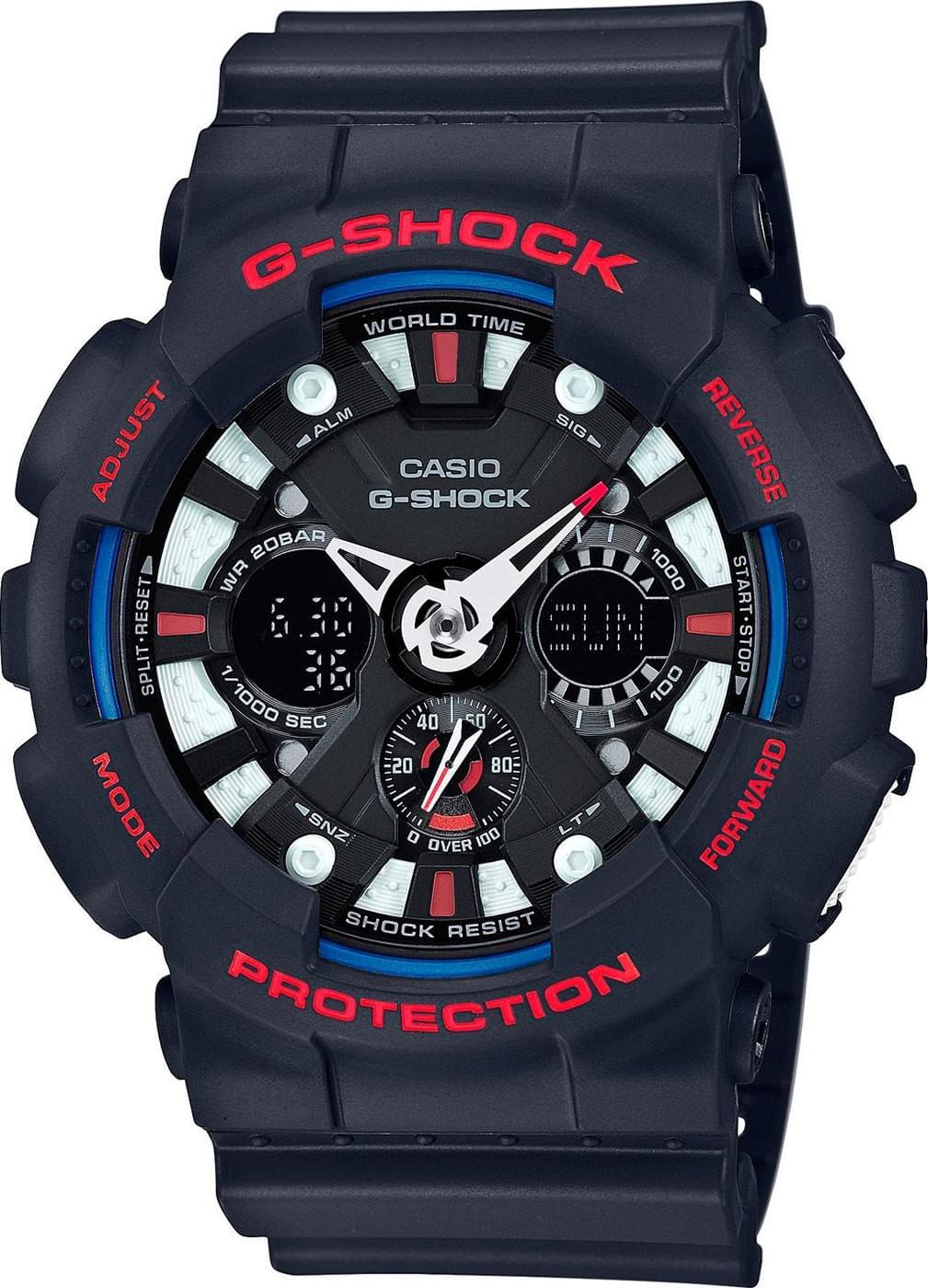 Casio G-Shock - Đồng hồ Nam - GA-120TR-1ADR