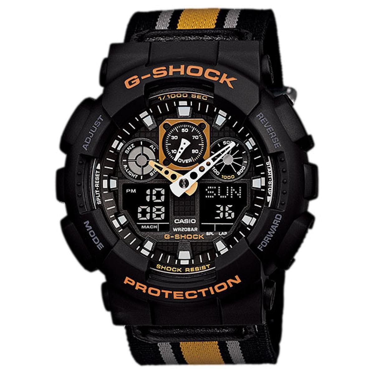 Casio G-Shock - Đồng hồ Nam - GA-100MC-1A4DR