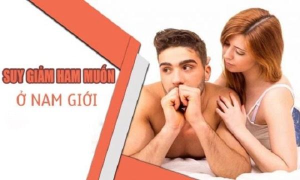 Suy giảm ham muốn tinh dục ở nam do lối sống - Cung Đình