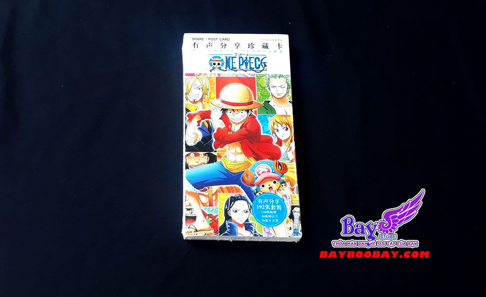 ✅Bưu thiếp One Piece 30 tấm