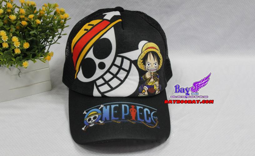 ✅Mũ lưỡi trai Luffy Onepiece