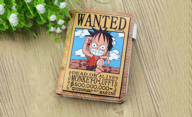 ✅ Ví Luffy Chibi - Truy Nã
