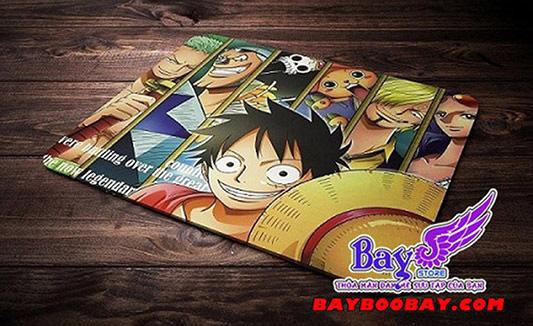 ✅Lót chuột Anime Luffy - One Piece