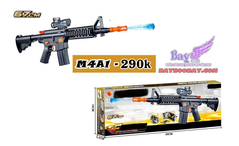 Súng M4a1 - đạn nở