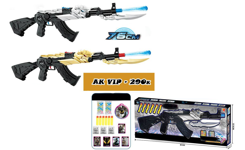 Súng Ak47 Vip Rồng - Ak 47 transformer