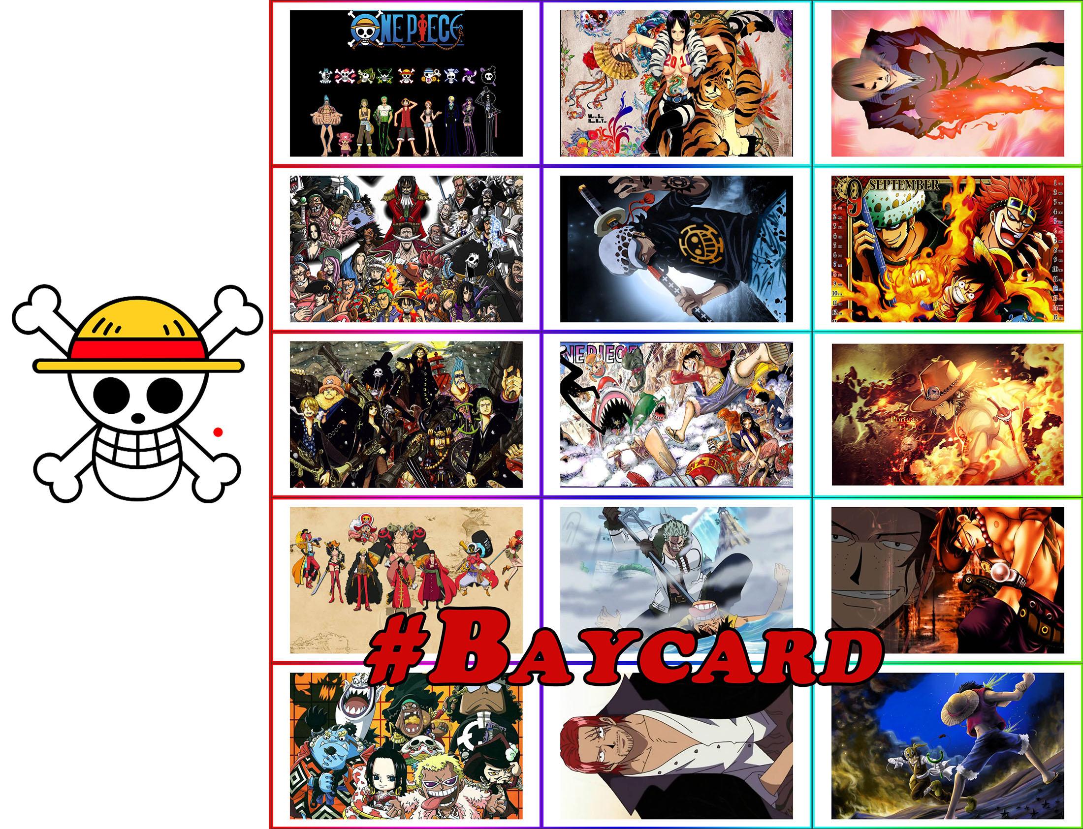 Baycard One piece đa dạng