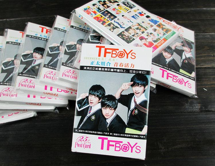 Poscard Thần tượng TFBOYS - BTS -EXO -Bigbang