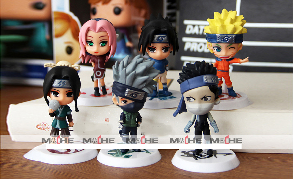 ✅Set Figure Naruto mini 1