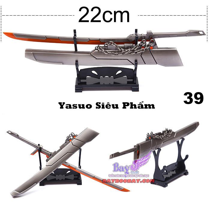 ✅ Kiếm Yasuo Siêu Phẩm - Liên Minh Huyền Thoại 22cm