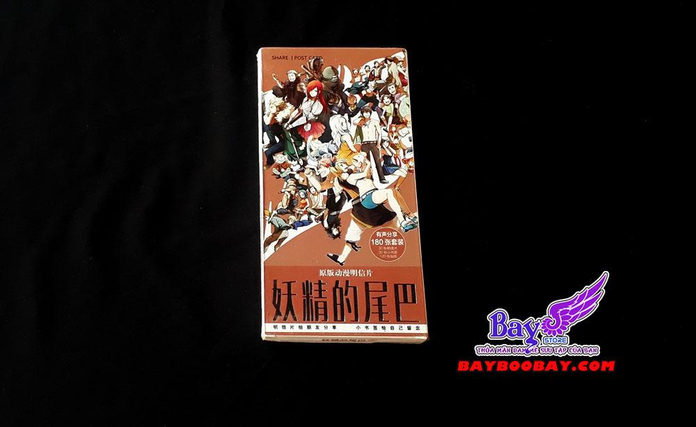 ✅Bưu thiếp Fairy Tail 30 tấm