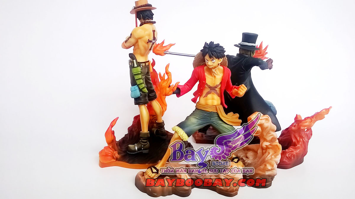 Figure One Piece Ace-Luffy-Sabo
