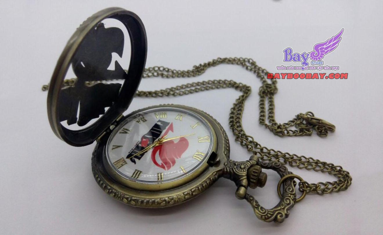 Đồng hồ quả lắc nắp bấm