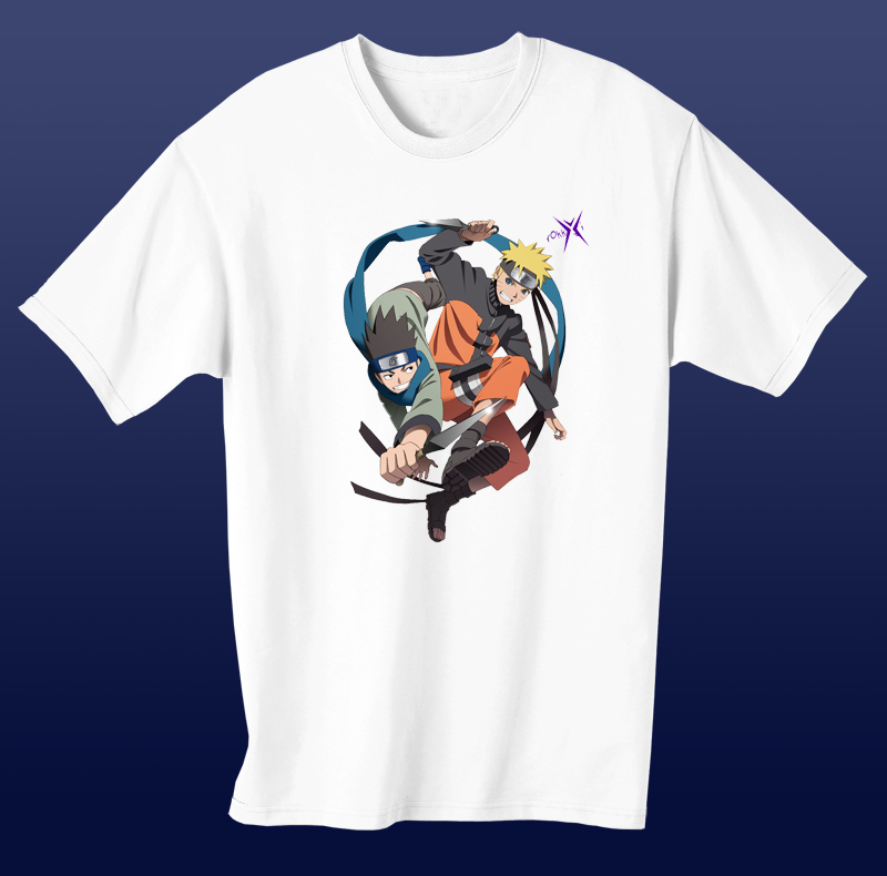 ✅Áo Anime Naruto Konohamaru - Naruto