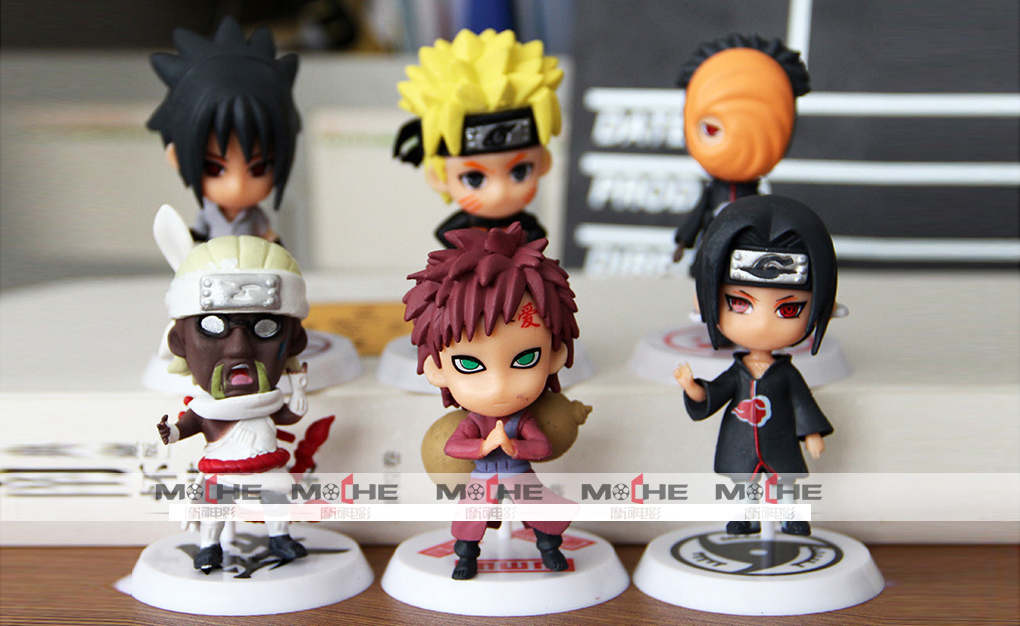 ✅ Set Figure Naruto mini 2