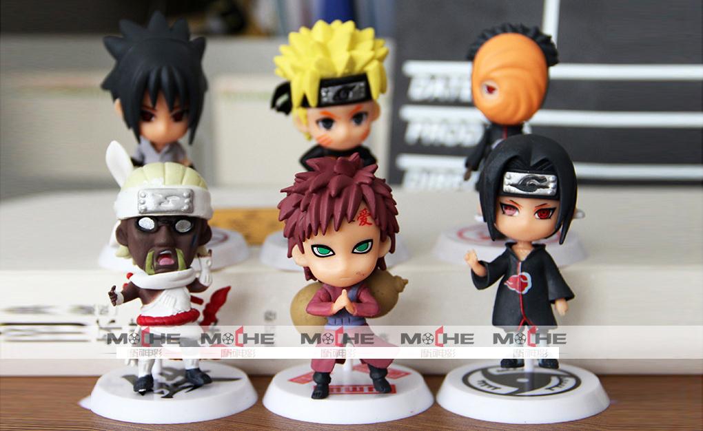 ✅ Set Figure Naruto mini 2