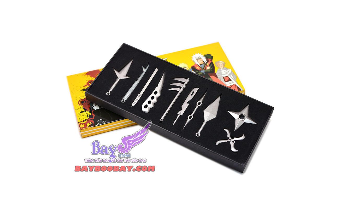 Set Vũ khí Naruto 10 món