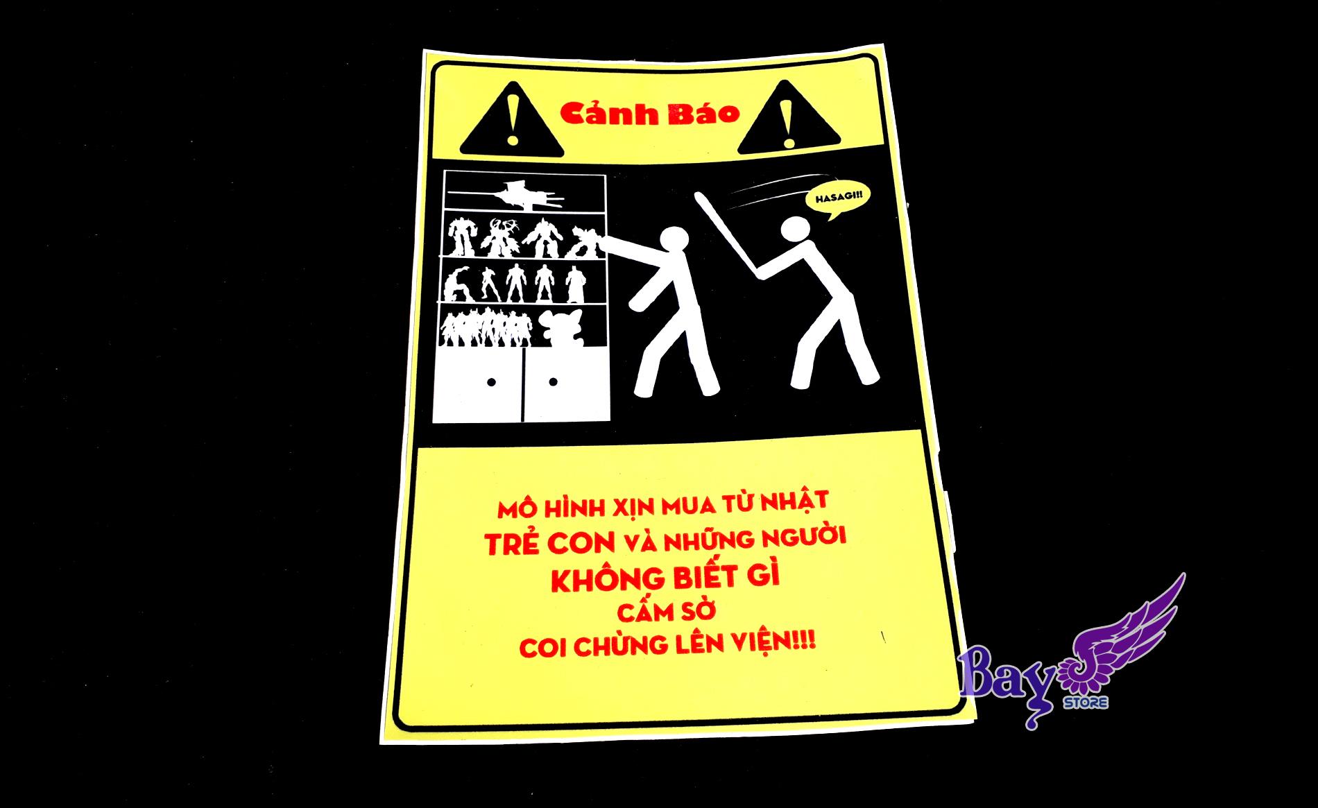 ✅ Bảng cảnh báo OTAKU 1