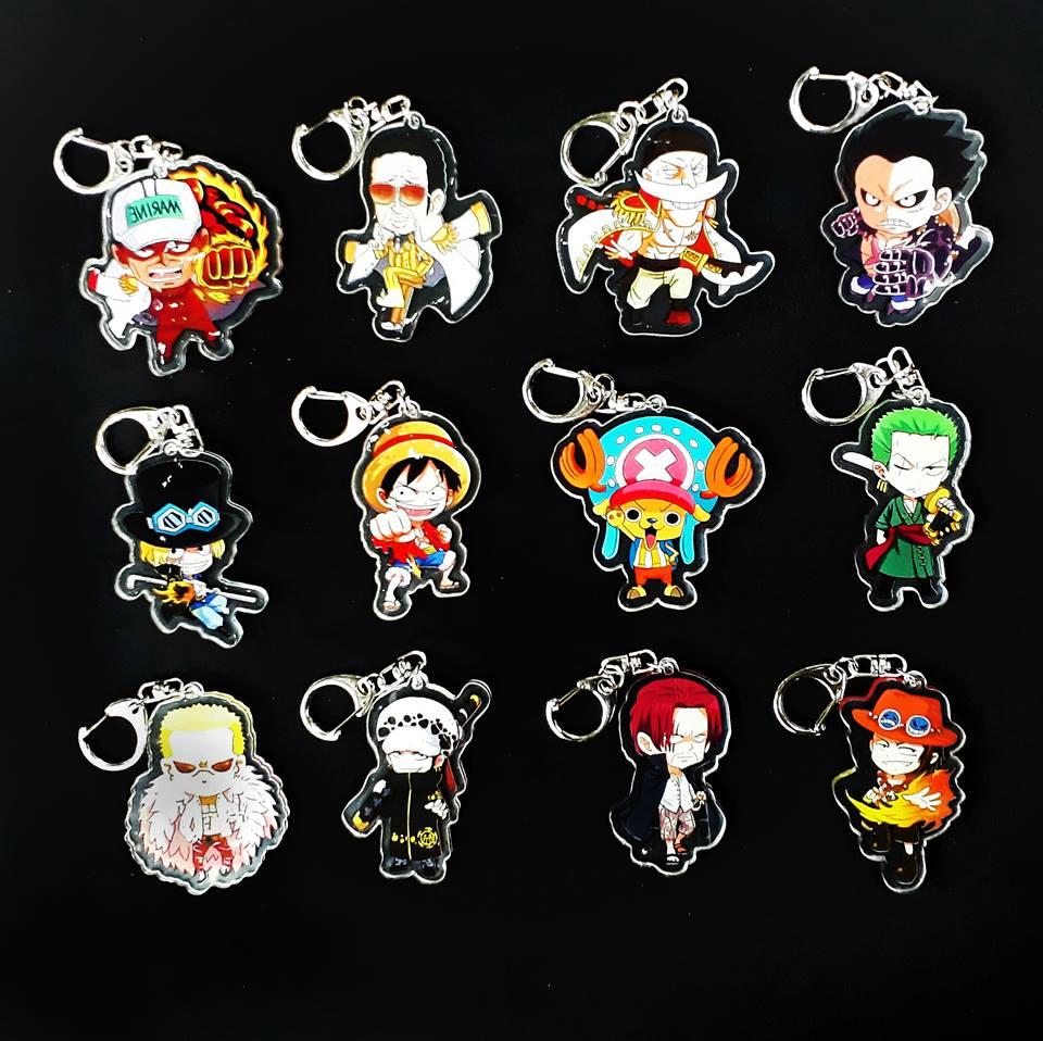 ✅Móc khóa PVC One Piece