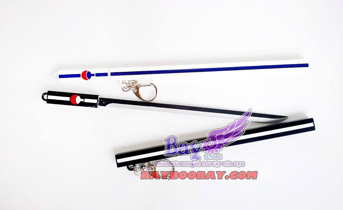 ✅ Kiếm Sasuke - Uchiha 22cm (2 màu)