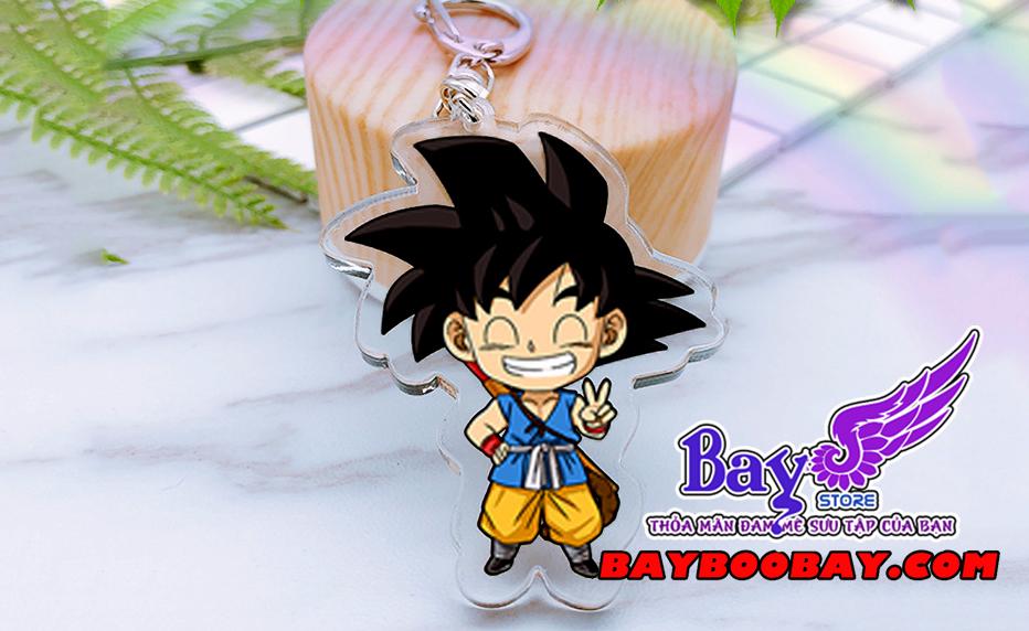 ✅Móc khóa Goku