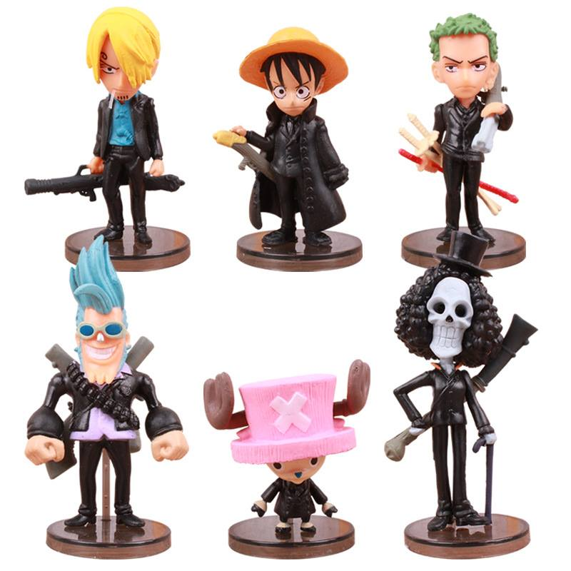 ✅Set Figure One Piece Film: Strong World (6 con)