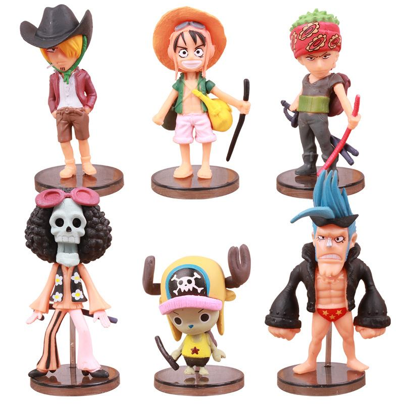 ✅Set Figure One Piece Film: Strong World (6 con) II