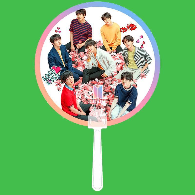 ✅Quạt idol - BTS