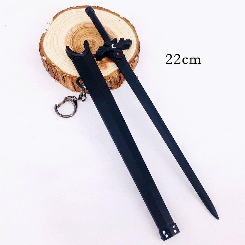 ✅Kiếm Kirito Zwarte Nachthemel (Dạ Không kiếm) 22cm